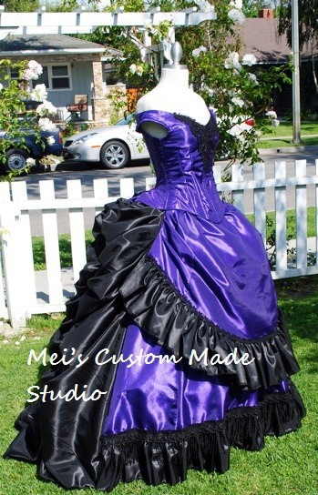Custom Made Claudia's Gothic Victorian Gown Custom Interview with the Vampire Tea Stage Dress/Masquerade Costume