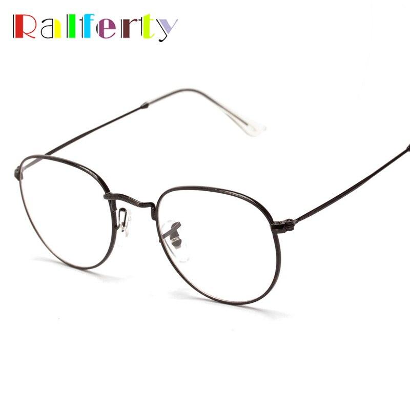 Vintage Round Metal Frame Glasses Unisex, Brand New Optic Eyeglass Frames Men Eyewear Eyeglasses For Women oculos de grau 3447