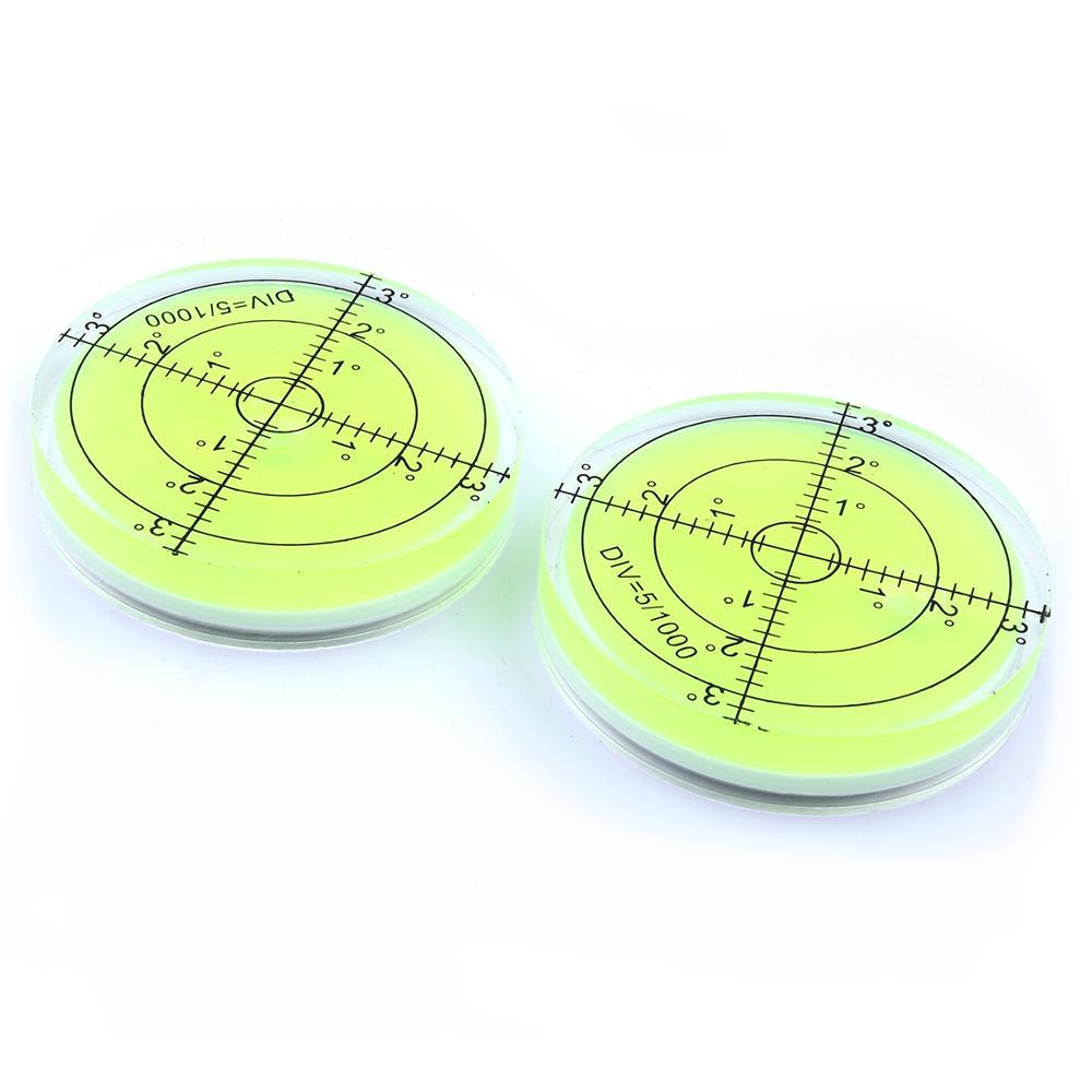 Univerzális zöld kör alakú buborék Bullseye vízszintes buborék - Mérőműszerek - Fénykép 6