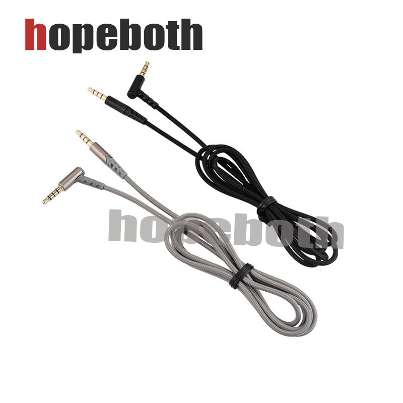 10pcs/lot 3.5mm Audio Cable Male To Male Headphone Nylon