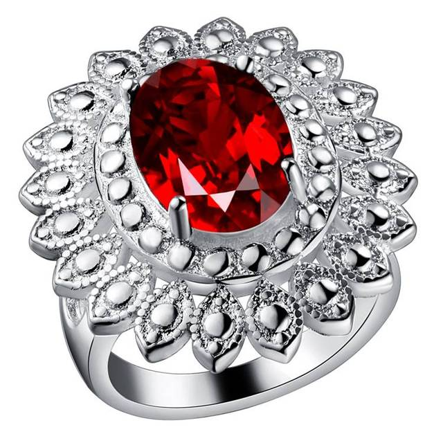Rings  Fashion Jewelry gift rings High quality  silver PJ197