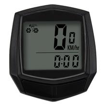 Велосипедный проводной хронометр небольшой ABS водонепроницаемый портативный компьютер одометр спидометр Открытый Велоспорт Аксессуары im