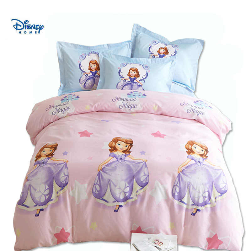 Disney Sofia Princess Bedding Set Pink