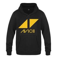 Avicii Rock Band DJ Music Sweatshirts Men 2018 Mens Hooded Fleece Pullover Hoodies