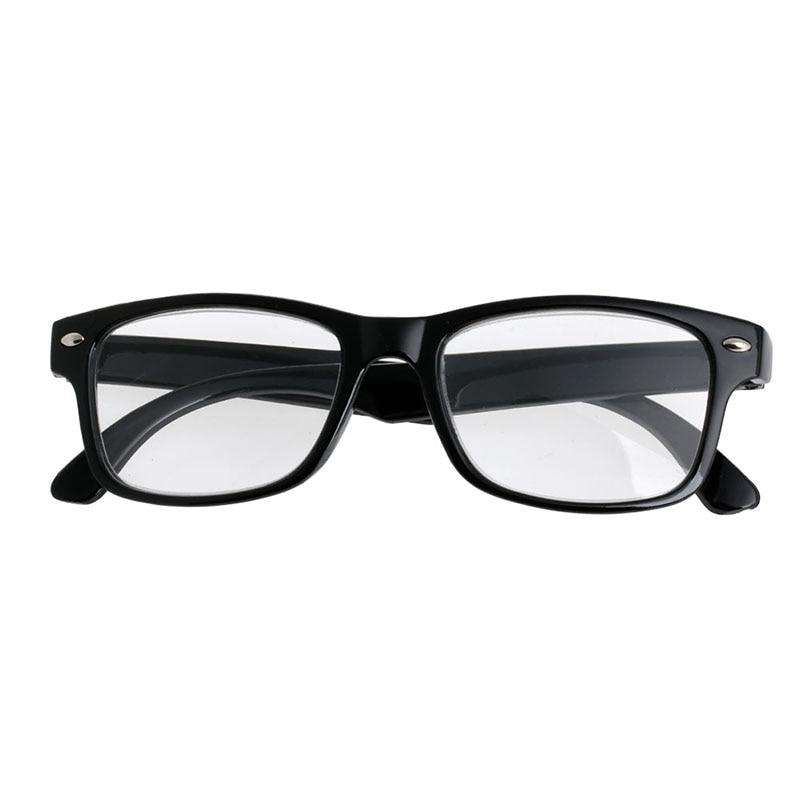 Classic Black Frame Retro Style Spring Reading Glasses Readers +1.0  4.0