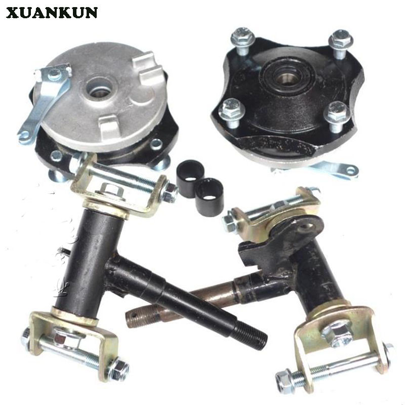 где купить XUANKUN Beach Car Modification Accessories Front Drum   Cover Horn Assembly Drum Brake Horn Four Hole Flange по лучшей цене