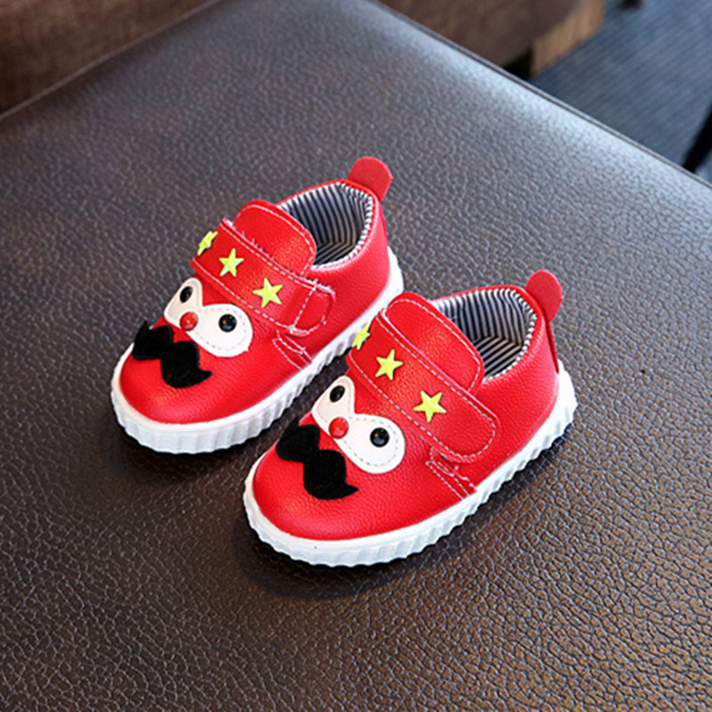 baby shoes Kids Children Boy Girl Sports Shoes Sneakers Sapatos leather Baby Infantil Bebe Soft Bottom