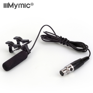 Image 1 - Long range Sound absorbing !! Professional 3Pin Lavalier Lapel Condenser Microphone for AKG Wireless Transmitter 3 Pin XLR TA3F
