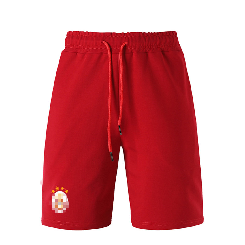 shorts-Wine red
