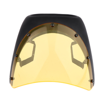 7 Inch Retro Headlight Fairing Screen Cover for Motorcycle Retro Cafer with 16.5cm 18cm Round Headlamp