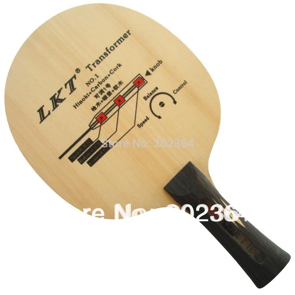 LKT Transformer NO.1 Hinoki+Carbon+Cork Shakehand Table Tennis / PingPong Blade