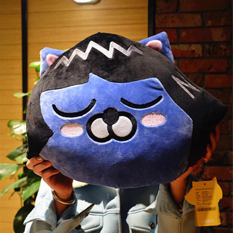 SHINEHENG 40 см Райан Мягкие плюшевые игрушки V девушка же Стиль подушки Подушка-рэйан кукла emoji