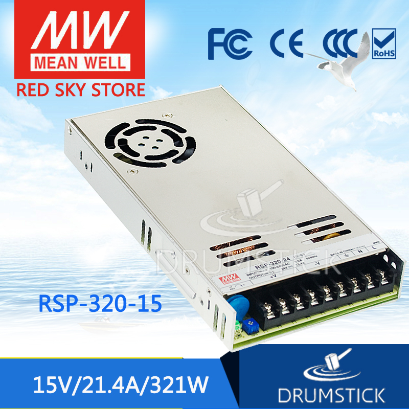 Advantages MEAN WELL RSP-320-15 15V 21.4A meanwell RSP-320 15V 320.4W Single Output with PFC Function Power Supply [Hot1]Advantages MEAN WELL RSP-320-15 15V 21.4A meanwell RSP-320 15V 320.4W Single Output with PFC Function Power Supply [Hot1]