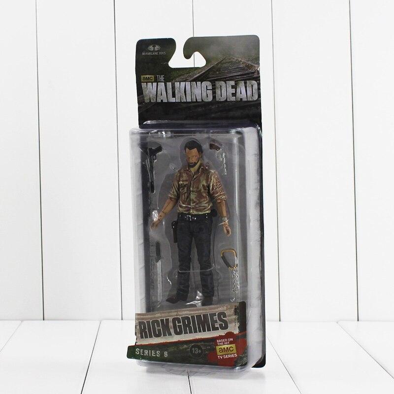 5 13cm NECA The Walking Dead Rick Grimes Figure Toy AMC TV Series PVC Action Figurine Model Collectible Gifts for KIds чехол для смартфона samsung galaxy a5 2017 sm a520f черный ef ca520pbegru ef ca520pbegru