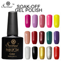 Saviland 1pcs 10ml Nail Gel Polish Long-lasting Shining Colorful Vernis Semi Permanent Soak-off LED UV Nail Gel