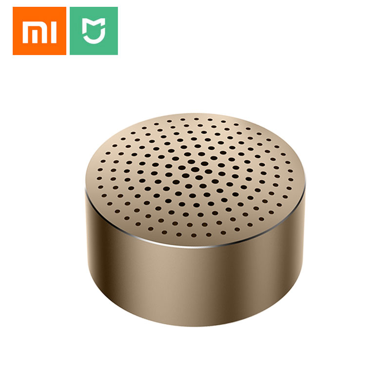 Xiaomi Mi Portable Bluetooth Speaker Built-in Mic 480mAh Battery Aluminium Alloy Body Bluetooth 4.0 Wireless Mini Mp3 Player Bluetooth