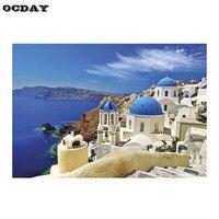 1000 Cái Puzzle Kids Ghép Hình Câu Đố Phân Vùng Phiên Bản Trái Tim Của Tình Yêu/Biển Aegean Mô Hình Giáo Dục Đồ Chơi Lắp Ráp Trang Trí