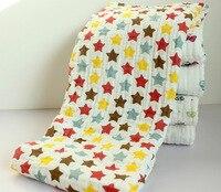 4 Layers Autumn Winter Baby Gauze Towel Newborn Super Soft Cotton Bath Towel Infant Thickening Blanket