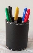 Бесплатная доставка фокусы Цвет ручка Прогнозирование-круглая кожаная ручка держатель, цвет матч ментализм магия/этап магии/реквизит