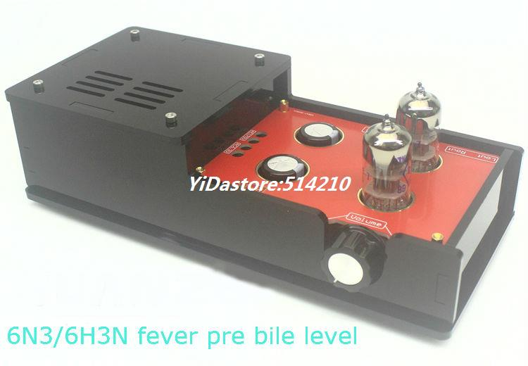 NEW 6N3 6H3N Matisse Circuit tube preamplifier HIFI amp 2016 new matisse amp dc12v 2a bile preamp tube preamp buffer 6n3 5670 tube pre amp hifi audio tube preamplifier power supply