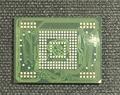 3 pçs/lote Para Tab 2 P5100 eMMC 16 GB com firmware Programada KLMAG2GE4A-A002 & KLMAG4EFJA-A002 NAND de memória flash chip IC 16 GB