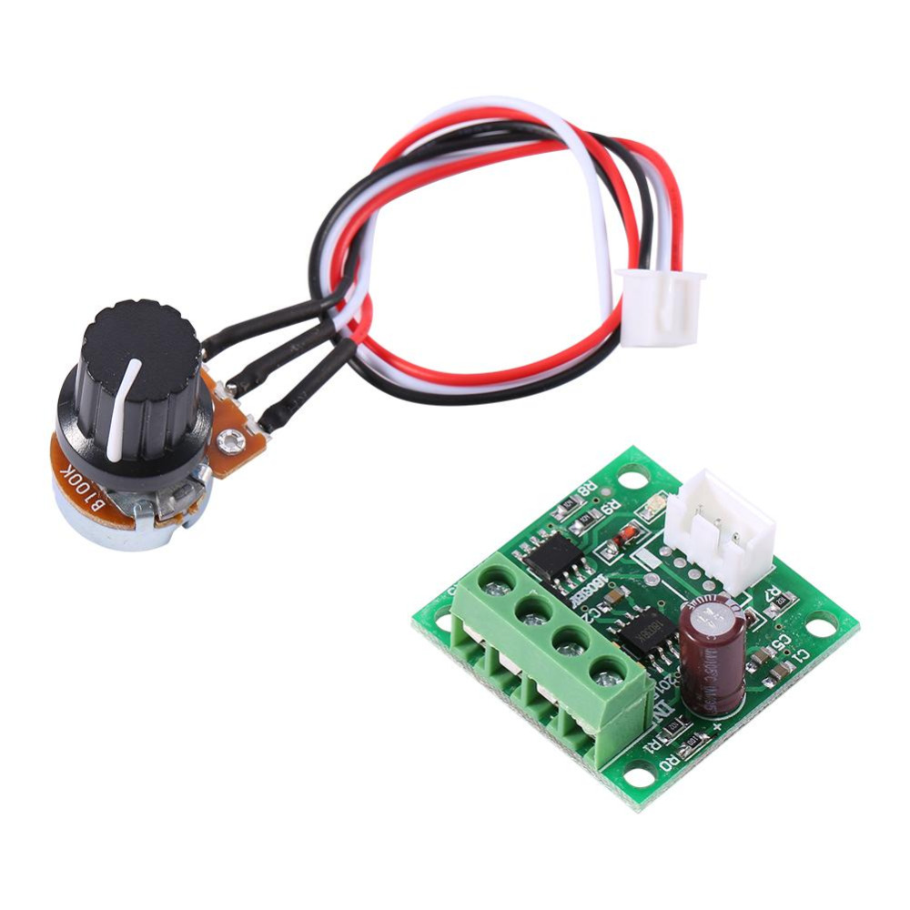 Motor Speed Controller Low Voltage DC 1.8V to 15V 2A Mini PWM Motor Speed Controller Regulator Control Module