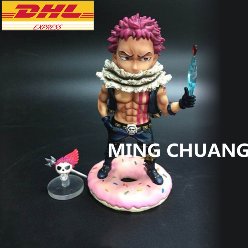 все цены на Statue ONE PIECE Charlotte Katakuri Bust Dessert Three Star GK Action Figure Collectible Model Toy BOX D618