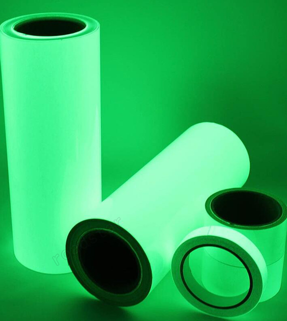 Glow in the Dark Luminous Self-adhesive Tape