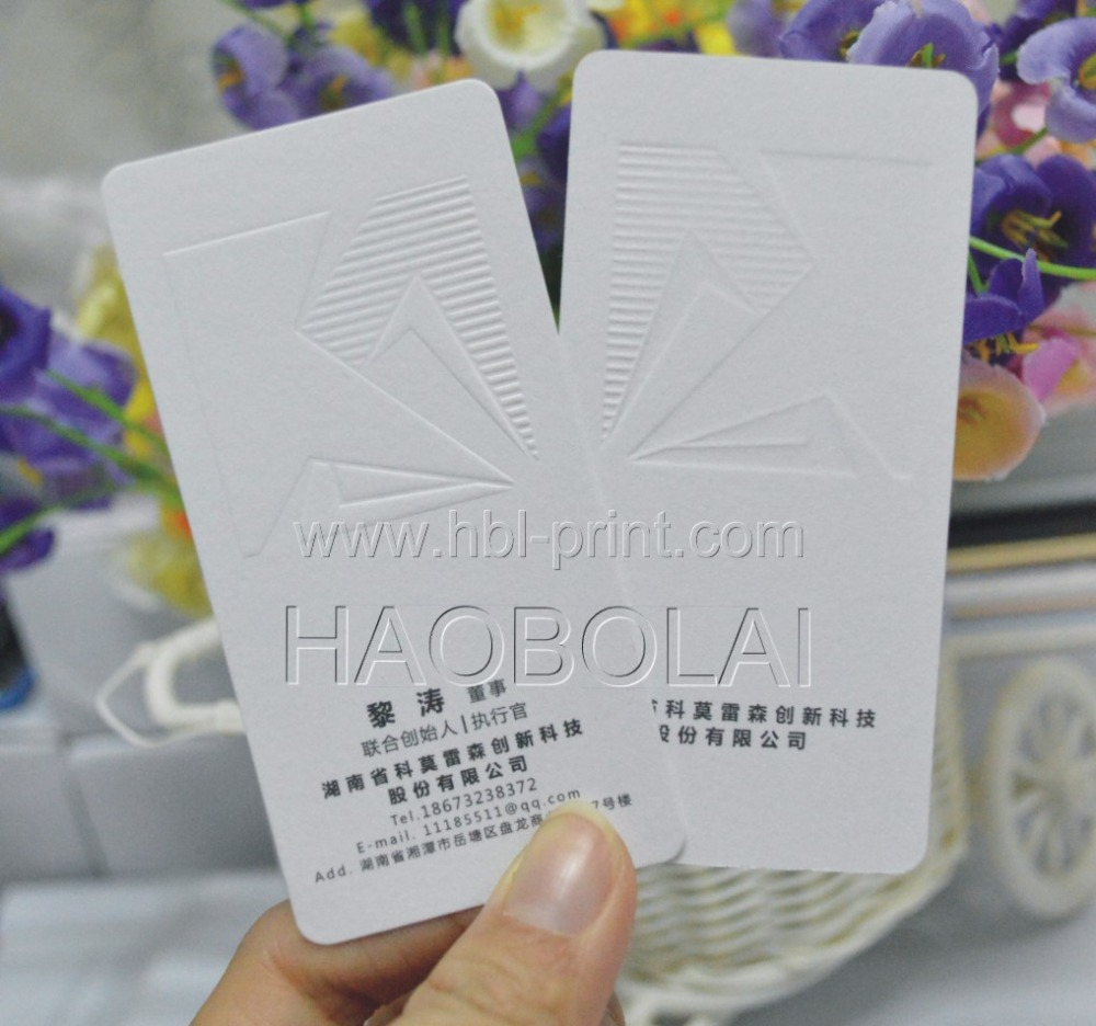Us 105 0 350g Business Papier Karte Weiß Gold Folie Stempel Logo Größe 90 54mm 1c 1c Druck Runde Ecke In Visitenkarten Aus Büro Und Schulmaterial