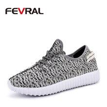 Fevral malha sapatos masculinos tênis respirável sapatos casuais macio e confortável rendas unissex calçados verão ao ar livre sapatos mulher