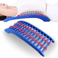 Civière arrière magique soutien lombaire inférieur taille de la colonne vertébrale Correction lombaire Massage relaxant soulager la douleur avec rouleau magnétique Pai