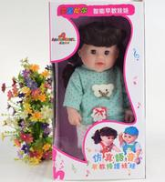 Ethnic Fashion Baby Soft Musical Educational Small Doll Pvc Real 3d Faces Plastic Soft Safety Mannequin