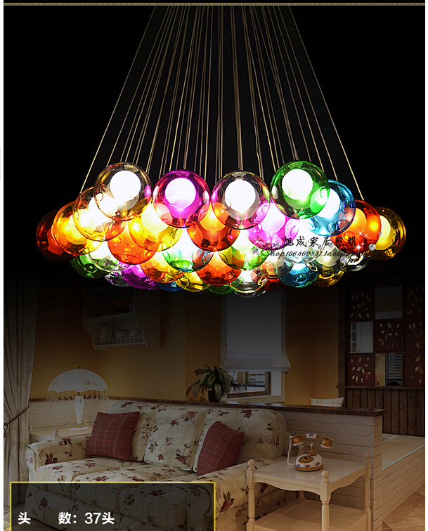 Bar Lamp Decoration: Aliexpress.com : Buy Fairytale Colorful Crystal Glass