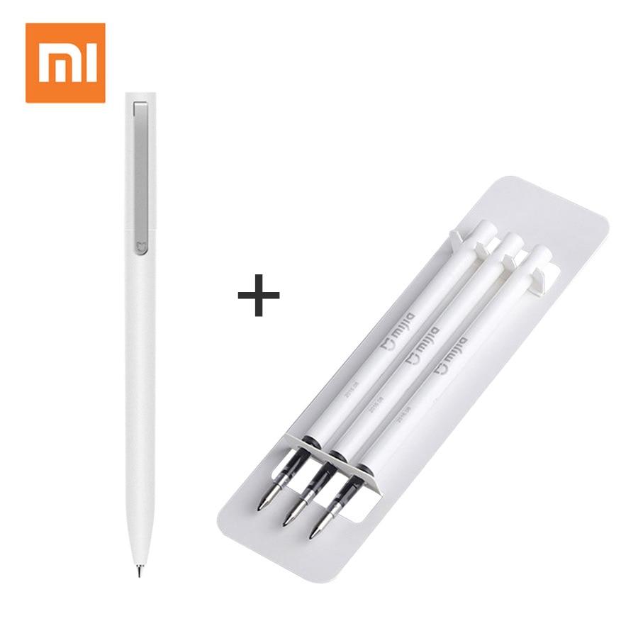 Original Xiaomi Mijia Signing Pen MI Pens PREMEC Smooth Switzerland Refill Black MiKuni Japan Ink Mijia 9.5mm Sign Pen