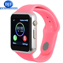 Smart Watch Wristwatch For Xiaomi Huawei Phone Android Smartphone Soft silicone strap Support SIM/SD card PK DZ09 GT08 Q18