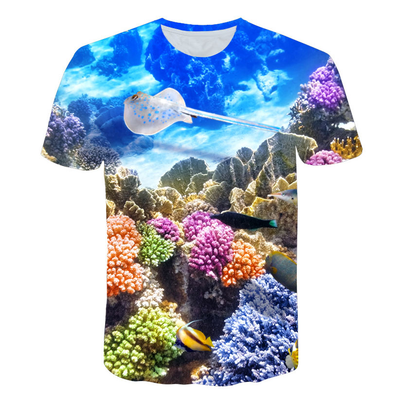 2018 new T Shirt Men Animal <font><b>Tshirt</b></font> <font><b>Sex</b></font> <font><b>Funny</b></font> T Shirts Slim 3d Print T-shirt Hip Hop Tee Cool Mens Clothing 2018 New Summer Top image