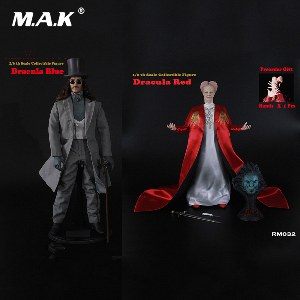 RM032/RM03 For Collection 1/6 Full Set Dracula Red/Dracula Blue Version Action Figure Model For Fans Holiday Gifts