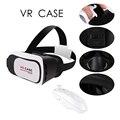 Caso 2016 google papelão vr 3.0 versão vr realidade virtual óculos 3d para 3.5-6.0 polegada smartphone + bluetooth controlador