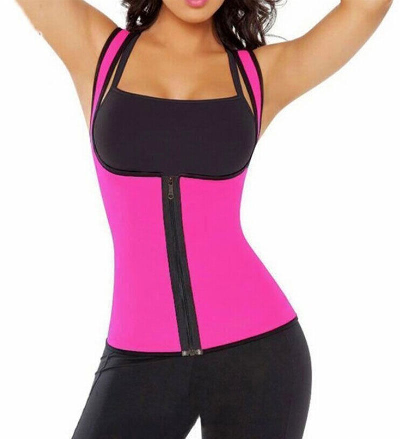 Sexy Womens Neoprene Body Shaper Slimming Waist Slim Belt Vest Underbust Women Hot Zippers Shapers 1