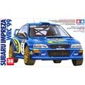 Tamiya scale mode l1/24  scale car 24218 IMPREZA WRC99 assembly Model kits scale models car building plastic scale model kits