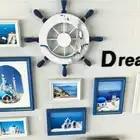 11 teile/los bilderrahmen wand dekoration Europäischen massivholz Mittelmeer fotowand wohnzimmer kreative kombination - 3