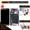 High Quality LCDs Replacement For Samsung Galaxy Note 3 N900 Note3 LCD Display Frame Touch Screen
