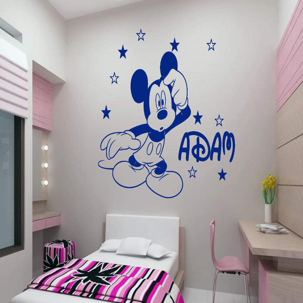 Mickey Mouse Bedroom Decorations Art Mickey Mouse Promotion Shop For Promotional Art Mickey Mouse