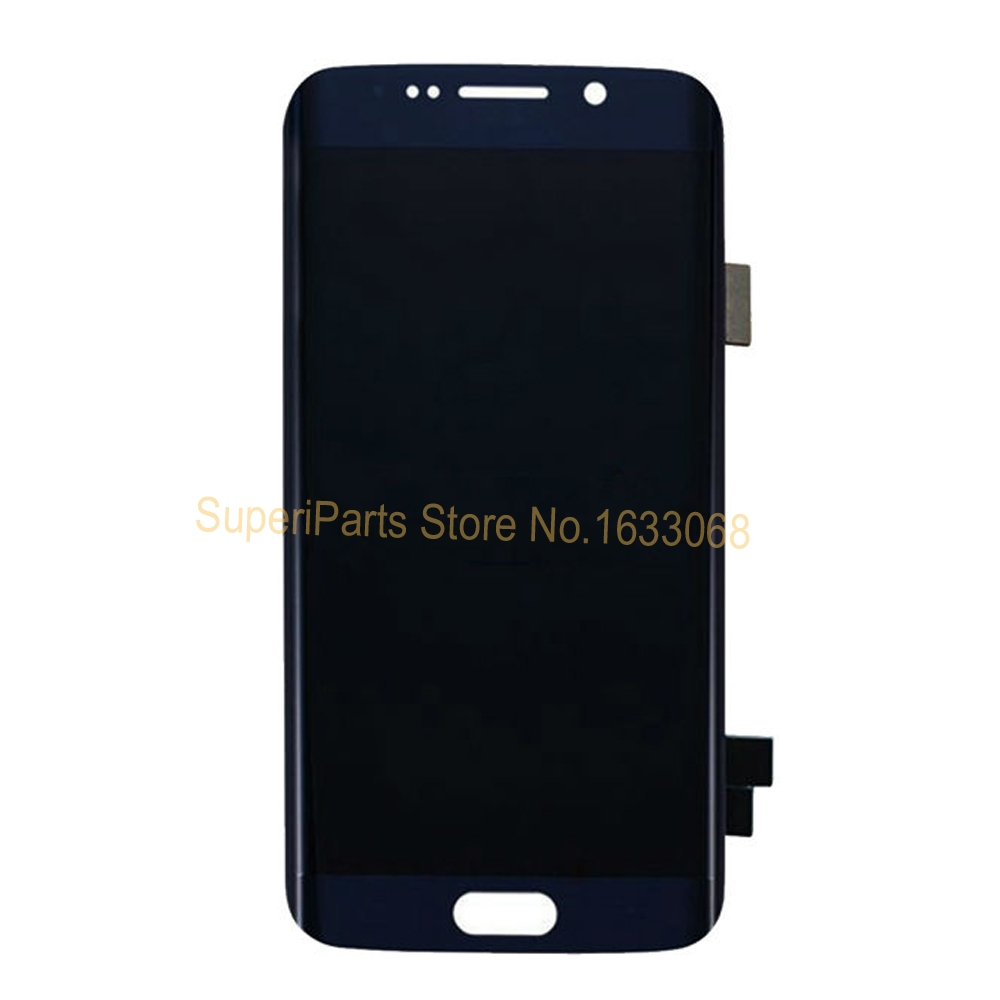 10PCS Tested Lcds Screen for Samsung Galaxy S6 Edge G925A G925T G952F LCD Digitizer Touch Assembly Blue White Gold with Tracking