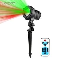 Holigoo Christmas Laser Projector Outdoor Garden Star Light IP44 Waterproof IR Remote Control Show Red Green