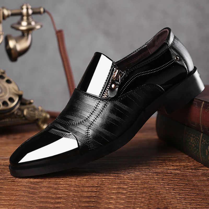 ... BG06 Leather Shoes Pointed Men Ballroom Dance Office Dress Shoes Man  Baita Latin Wedding Shoes Prom ... a9f53bdde76c
