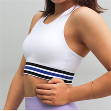 Sports Camisole Women's Running Shockproof With Padding Gym Fitness Bra Crop Top Tank Top недорого