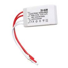 New 20-60W 12V Halogen LED Lamp Electronic Transformer Spotlight Adapter  JDH99