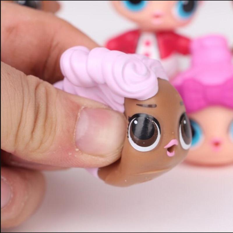 8 unids / lote LoL Desembalaje Muñecas de alta calidad Lol Dolls - Muñecas y accesorios - foto 3