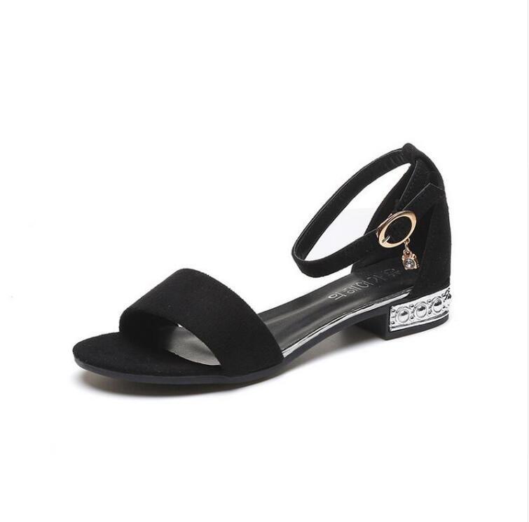XCZJ Korean Style 2018 Summer Women Sandals Open Toe Flip Flops Women's Flat Sandle With low Women Shoes Gladiator student Shoes 5